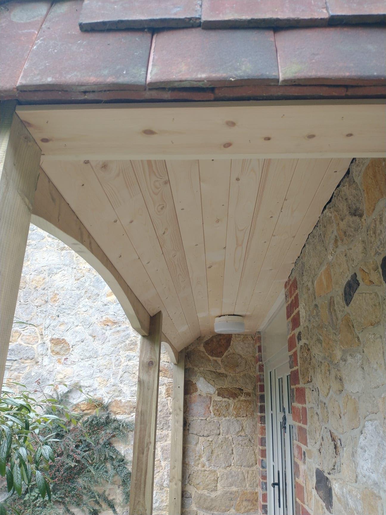 Porch repair